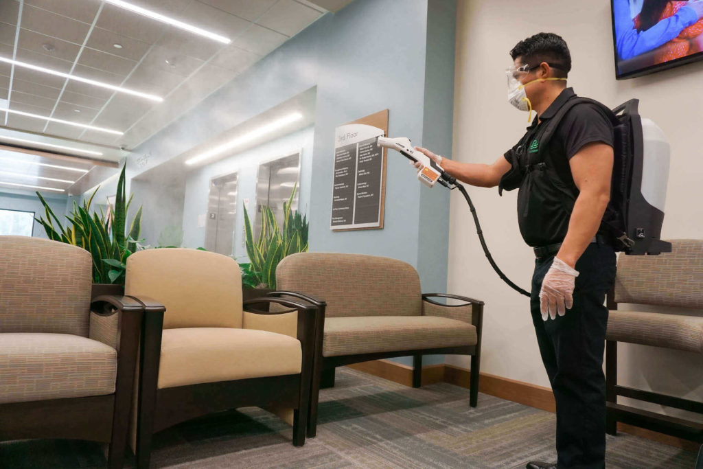 What is Electrostatic Disinfection